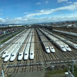 摂津の新幹線車両基地