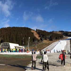 スキー3日目•ウィングヒルズ白鳥へ