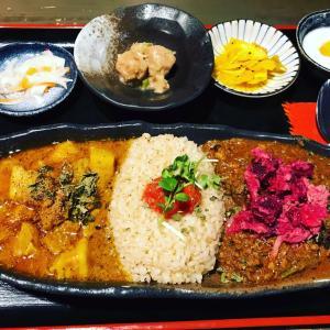 旧ヤム邸の大阪スパイスカレー