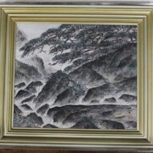 【 常盤大空 渓声 日本画のご紹介です 】