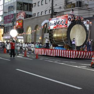 【 郡山 うねめ祭り 駅前風景です(^-^) 】