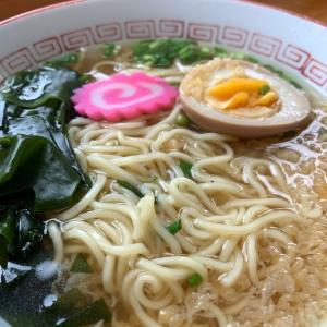 うどん屋さんのラーメン♬                           高松市「村上製麺」