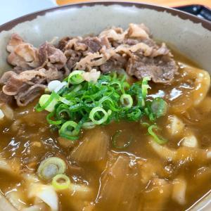 旨旨カレーに肉トピあ~んど〆雑炊(^^♪                高松市「かしむらうどん」