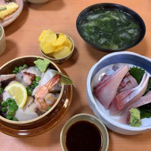 うまい海鮮が食べたくなったら・・・2021年新春            徳島県鳴門市「びんび家」