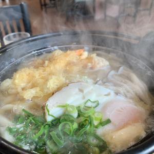 食べ始めから食べ終わりまで熱々でした♪               高松市「いしうす庵 屋島店」