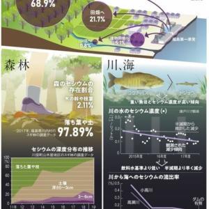 福島第一原発から出たセシウムはどこへ みえてきた現実