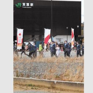 福島発の聖火リレー「復興の光」を演出 帰れぬ原発事故被災者に募る違和感