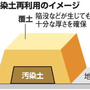 汚染土再利用、全国理解進まず 7人反対/賛成なし 福島除く46知事アンケート