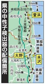 廃炉の監視態勢を強化 福島県、独自に中性子線観測 第一原発敷地外