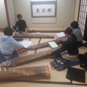 子供のためのお箏教室3年目1-7回目終了。