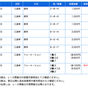 南関スタイルズ→帯ww 3連単11点➡︎144万回収ww