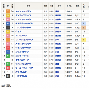 小倉11R➡︎巌流島S3連複2頭軸でコレ!! 107万回収できたのか?