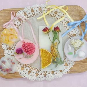 花と香りに癒されて☆JLAアロマワックスケーキ認定講師講座&1dayレッスンご案内