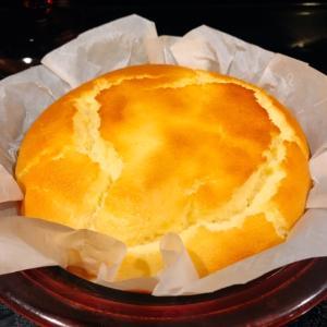 ヨーグルトで作るスフレチーズケーキ♪