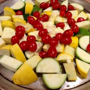 野菜で保存食2種とペッパーステーキ!