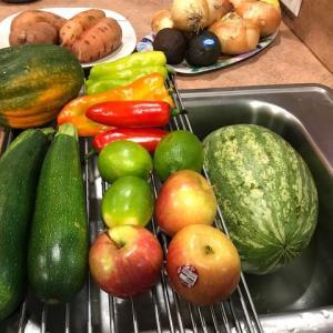 バラエティーボックスの野菜&果物♪