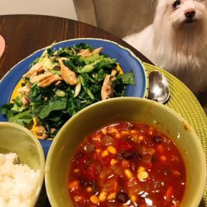 何を食べていいかわからない時に作るもの~豆スープ