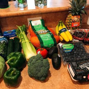 本日の買い出し (Sprout, Whole Foods)
