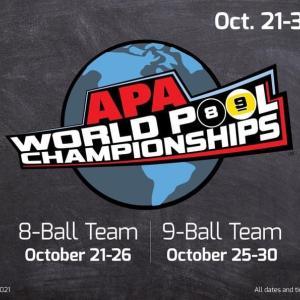 今年のラスベガス大会『APA World Pool Championships 2021』が10月に延期されることになりました。