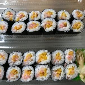 お寿司のお持ち帰り