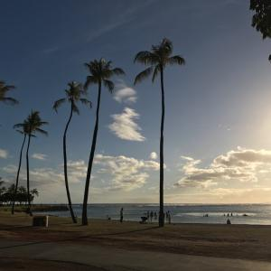 ハワイのサンセット