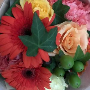 お花のサプライズギフトが届きました