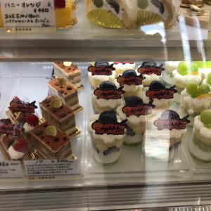 甘い物が食べたくてケーキを買いに・・・