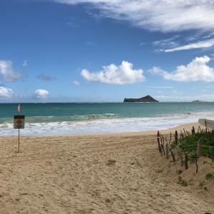 ★ワイマナロビーチの写真を見て気分を上げて