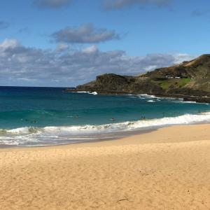 ★ハワイで大好きな景色、サンデービーチ