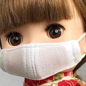 ソランちゃんのために立体マスク
