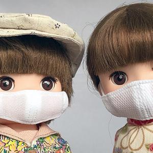 レミンちゃんにも立体マスク