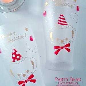 通年人気のアニベア転写紙で涼しげグラス♥