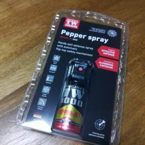 今日のお買いもの、Pepper spray・・・