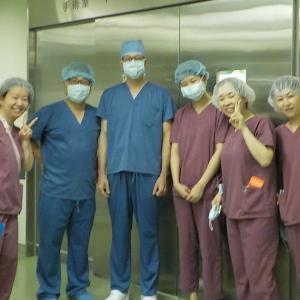 呼吸器外科手術・・・