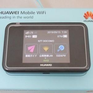 SIMフリーモバイル Wi-Fi ルーター HUAWEI E5383 中古品販売中