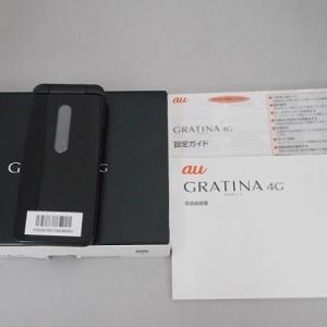 au ガラケー GRATINA 4G KYF31 新品同様品販売中