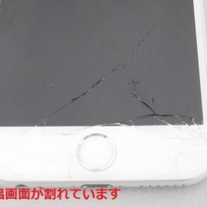 iPhone6 64GB 画面割れの買取です