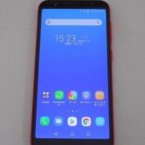 SIMフリー ZenFone Max のバッテリー表示エラー