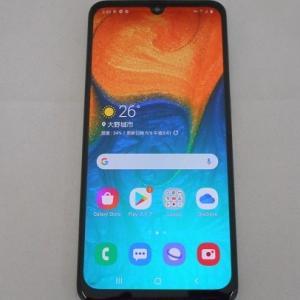 SIMフリースマホ SAMSUNG Galaxy A30 中古品販売中