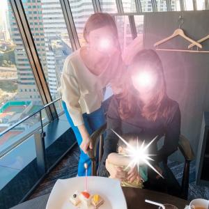 ++VIEW &DINING THE Sky  ホテルニューオータニ++