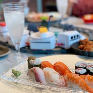 ++回転寿司トレインでおうちランチ!++
