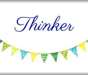 *考える人(Thinker)*ウィズダムオラクルカードより、今日のエンジェルメッセージ(Jun.12)