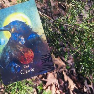 *カラス(The Crow)*ミスティカルシャーマンオラクルカードより、今週のエンジェルメッセージ(Apr.5)