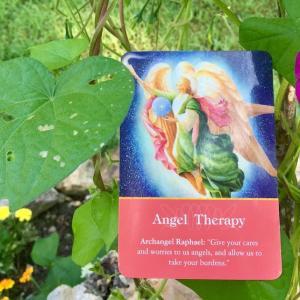 *エンジェル・セラピー(Angel Therapy)*大天使オラクルカードより、今週のエンジェルメッセージ(Aug.23)