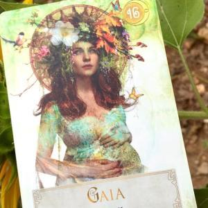 *ガイア・地球(Earth)*女神のパワーオラクルより、今週のエンジェルメッセージ(Sept.6)