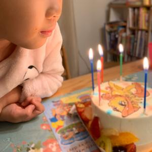 娘 7歳誕生日と七五三