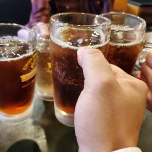 【飲み】もんじゃ・お好み焼き&散策