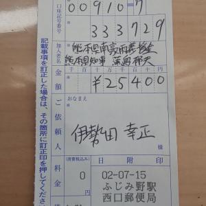 6月分の身を切る改革~熊本県へ義援金として
