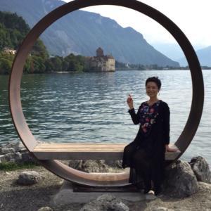 Switzerland:シヨン城まで 2