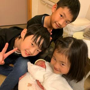 7人目の孫が誕生